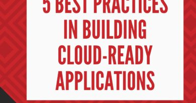 5 Best Practices in Building Cloud-Ready Applications